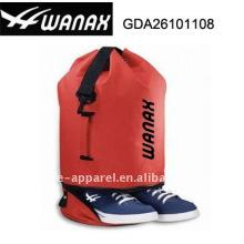 mochila de playa con compartimento para zapatos