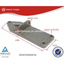 Soporte trasero para motor HOWO de alta calidad WG9725593016