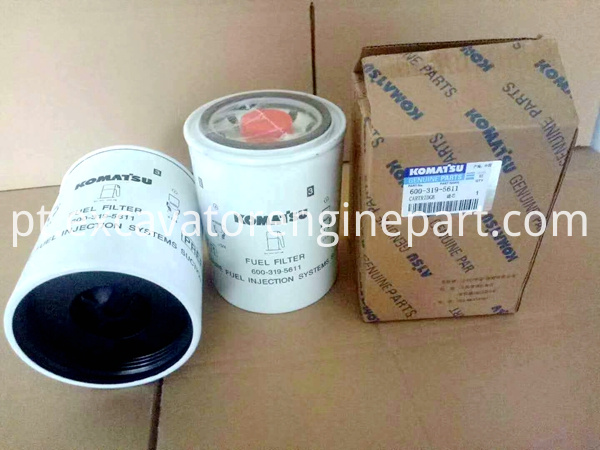 PC200-8 PC300-8 excavator diesel fuel filter 600-319-5611