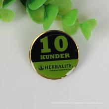 Top venda garantida pin crachá de qualidade