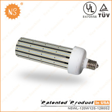 Aluminum Fin Heat Sinking 130lm/W 120W LED Corn Bulb Light
