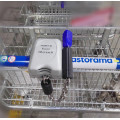 Lock for Shopping Trolleys with Two Kind of Coins