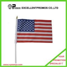 High Quality Polyester Advertising Cheap Custom Flag (EP-F7163)