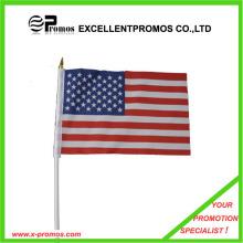High Quality Polyester Advertising Cheap Custom Flag (EP-F7163)