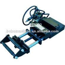 Pneumatic feeder and straightener for press line