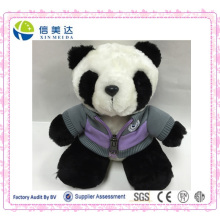 Manufacturers Custom-Made Cute Shcool Uniform Baby Panda Toy