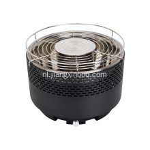 Round Smokeless Garden Outdoor Charcoal BBQ Grill