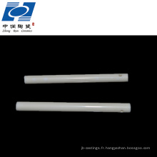 99,7% tube en céramique d'alumine