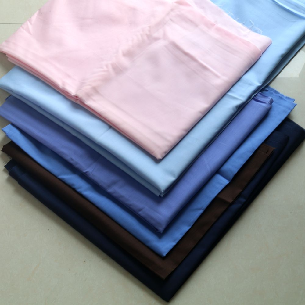 Polyester cotton shirting