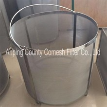 Best Quality for Stainless Steel Brewing Basket 300 micron Stainless steel wine filter bucket export to South Africa Manufacturer
