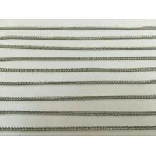 Chain necklace nickel free stainless steel