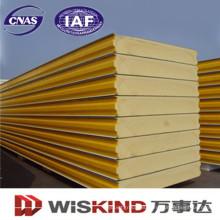 Nueva estructura de acero al por mayor de China PU / panel de bocadillo de poliuretano