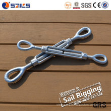 Metal Hot DIP Galvanized Eye & Eye Turnbuckle
