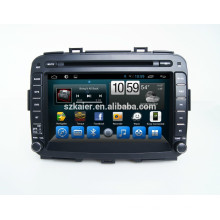 Android 4.4.2 Four Core--car dvd for Carens +OEM+mirrior link +TPMS+factory directly