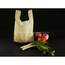 Sacs à provisions en plastique jaune