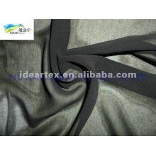 schwarzen 50D gefärbt Chiffon für Sommerkleid