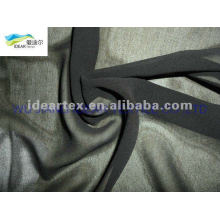 black 50D dyed Chiffon For Summer Dress