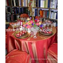 Sinfonía canela mantel, cubierta de tabla