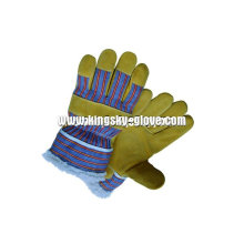 Pig Split Leather Acrylic Pile Lined Winter Glove (3518)