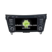 Quad core! Dvd do carro com link espelho / DVR / TPMS / OBD2 para 8 polegada tela sensível ao toque quad core 4.4 sistema Android NISSAN X-TRAIL / QASHQAI