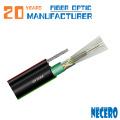 GYTC8Y53 / GYTC8A 96-жильный одномодовый антенный / подземный оптоволоконный кабель для трейдеров из Албании