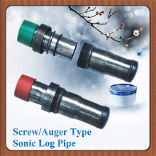 Screw/Auger Type Sonic Log Pipe On sales Promotion (Competitive Price)