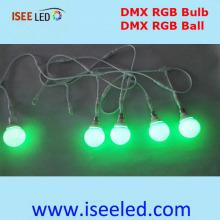 Dmx levou lâmpadas para decoração