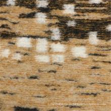 50% lana 30% poliéster 20% tela de lana de acrílico para la ropa de las mujeres