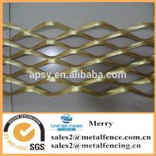 Application de maille décorative et treillis métallique expansé en aluminium perforé