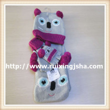 KIDS Acrylic knitted winter set