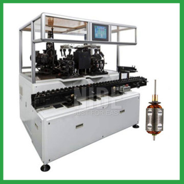 5 station rotor balancer weight removing machine