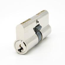 Cilindro de bloqueo de latón con cerradura de manija de puerta europea