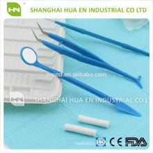 Kit de pinças de dentes dentais básicos, conjunto de ferramentas dentárias, produtos dentários / conjunto de instrumentos dentários