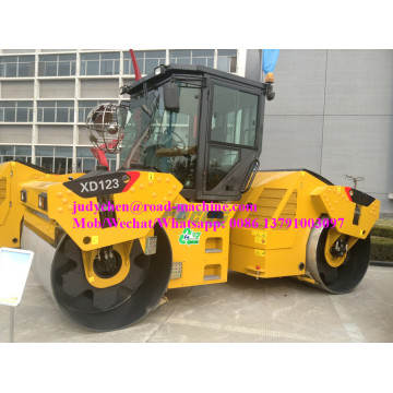 12t XCMG Tandem vibratory road roller XD123 / XD123E