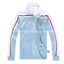 Clinquant samt materiell Fußball Jacken für Herren-Training-Spiel