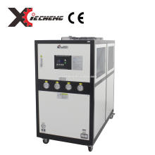 XieCheng CE standard 10HP Plastic processing Industrial Air Cooled Water Chiller