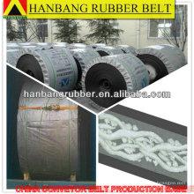 rubber cover fire-resistant pvc rubber conveyor belt China supplier