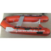 Bote inflable de casco rígido RIB250 con CE