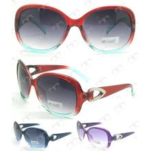 Metal gafas de sol de las señoras de la decoración (MS13039)