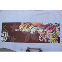 2016hot verkaufen Gummi-Veloursleder-Yogamatte mit kundenspezifischem Designdruck