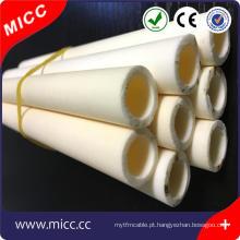 MICC 30mm de comprimento 6mm diâmetro interno um buraco cerâmico isolante haste
