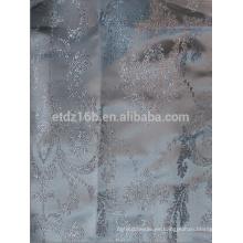 El hilado 100% del poliester del nuevo diseño grande de la flor de la llegada teñió la tela del telar jacquar para la ventana