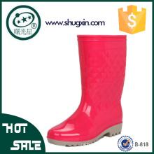 chaussures coréennes imperméables chaussures de pluie en caoutchouc jardin