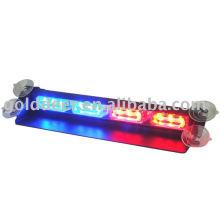 LED de aviso luz de para-brisa com viseira (SL332-SV)