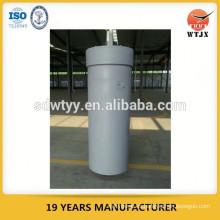 Cilindro de prensa hidráulica de gran diámetro para máquina de prensa de perfil de aluminio con capacidad máxima de 600 toneladas