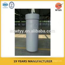 Cilindro de prensa hidráulica de grande furo para máquina de impressão de perfil de alumínio com capacidade máxima de 600 toneladas