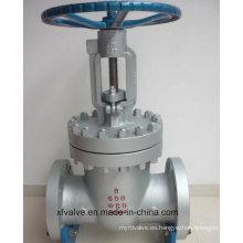 Válvula de puerta del extremo del reborde de Wcb del acero fundido de la alta presión 600lb