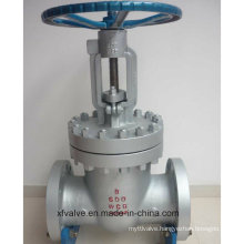 High Pressure 600lb Cast Steel Wcb Flange End Gate Valve