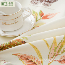 100% Polyester High Quality Table Cleaning Cloth/Hotel Tablecloth/Restaurant Round Tablecloth