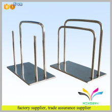 sturdy knock-down functional black wire bike rack